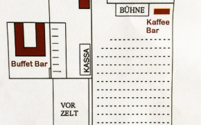 Margithalle Geländeplan